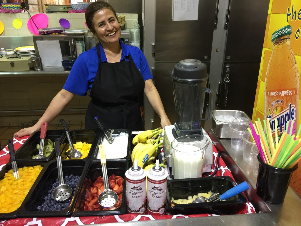 Smoothie Bar at Dover High School